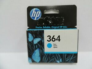 HP 364 Cyan Inkjet Cartridge BBE 6.21