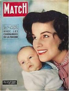 Paris Match n° 365 du 7 avril 1956 - Grace Kelly quitte les Etats-Unis