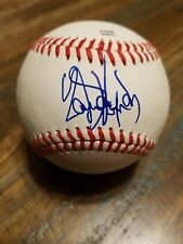 Yandy Diaz Autographed MiLB Rookie Ball Cleveland Indians Signed Baseball