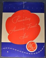 1936 Reo Flying Cloud Sales Brochure Folder Original 36
