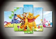Winnie the Pooh Disney print canvas decoration 5 pieces