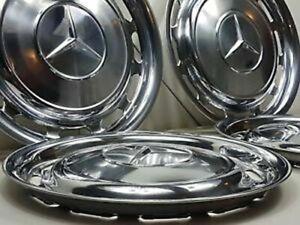 Mercedes Hubcaps Set 4 New OE W107 W108 W109 W113 W114 W115 W116 W123