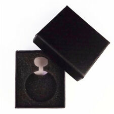 1pc Black Gift Box For Watch Jewelry Pocket Watch Display Case Necklace 8*7*3cm