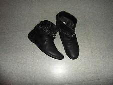 Taille 34 magnifiques bottines noires EXCELLENT ETAT