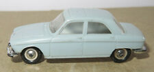 C old made in france 1966 micro norev oh 1/87 peugeot 204 grey tinted #532