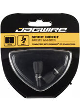 Jagwire Sport 4mm Direct Rocket II Cable Tension Adjusters Pair Black Shimano