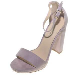 Sandalo con tacco alto e plateau allacciato alla caviglia color pantone 2018 gla