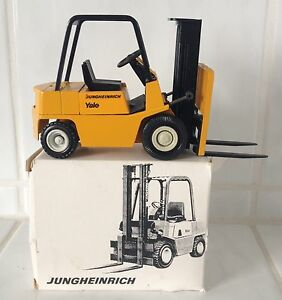 Yale Jungheinrich Oldtimer forklift fork lift truck BOXED VERY RARE