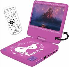 Disney Princess 7 Inch Portable Car DVD Player - Pink