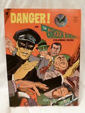 Danger! with the Green Hornet coloring book ,1966, UNCOLORED