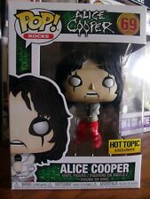 Funko Pop!: Rocks #69 Alice Cooper (Straight Jacket) Hot Topic Exclusive