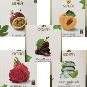 DOI KHAM Thai Dried Dehydrated Fruit Vegan Halal Sweet Healthy Tasty Gift Snack