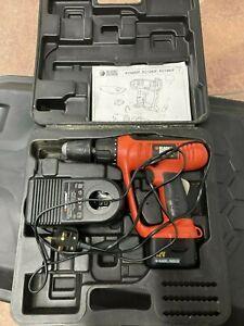 Black & Decker KC1282F 12V Cordless Combi Drill + Battery + Charger + Case