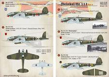 Escala de impresión 1/72 Heinkel He 111 parte 2 # 72198