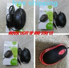 Led USB Mouse Mice 800dpi 3 Button Optical Scroll Wheel For Computer Notebook PC