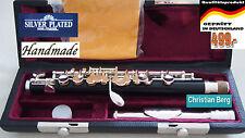 Piccolo Flauta Cabeza De Plata Travesera Flautín Ottavini Silverhead Hol