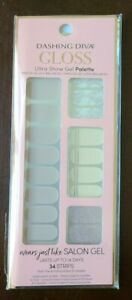 Dashing Diva Gloss Ultra Shine Gel Nail Strips 34 Strips - SLICK MOVE GS103