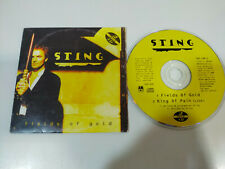 Sting Fields of Gold Single CD 2 tracks cardsleeve 1992