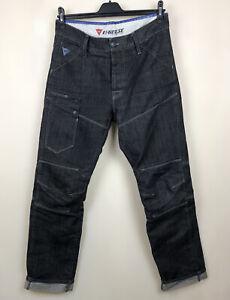 Dianese Denim Motorcycle Pants 33x34 D-tech Reflective Protective Jeans pants