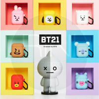 BTS BT21 Official Goods Silicone Charging Case For Apple Airpods Cube Ver