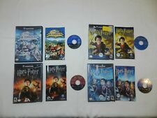 Lot of 4 Harry Potter Nintendo Gamecube Games COMPLETE CIB Tested Lots