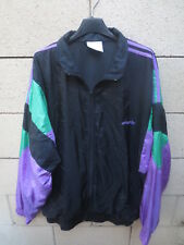 Veste ADIDAS nylon parachute 90's tracktop jacket jacke oldschool noir 186 XL D7