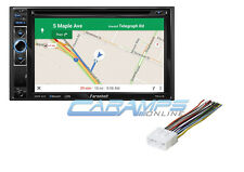 NEW FARENHEIT CAR STEREO W GPS NAVIGATION & BLUETOOTH & AUX/USB W INSTALL KIT