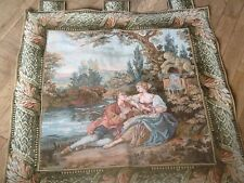 French Muro Da Appendere Arazzo 35X35 pollici SHABBY CHIC COUNTRY Manor