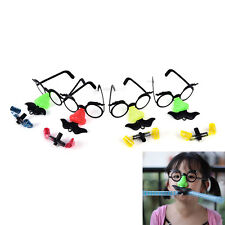 2X Super Funny Big Nose Blowing Dragon Glasses Tricky Toys Novelty Funny Toy ^