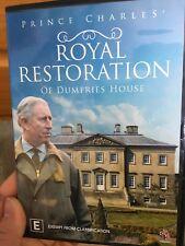 Prince Charles - Royal Restoration Of Dumfries House region 4 DVD (documentary)