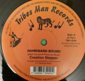 """TRIBESMAN RECORDS HOMEWARD BOUND  / HOMEWARD DUB . Creation Stepper 12"""""""