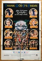 Thank God Its Friday (1978) 1 Sheet Movie Poster 27x41 VTG Disco Donna Summer