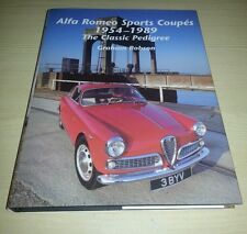 Alfa Romeo Sports Coupes 1954-1989 VGC FREE POST Giulietta Sprint GT GTA GTV TZ