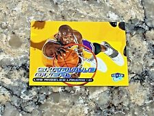 1999-2000 Fleer Ultra Shaquille O'Neal #40 Los Angeles Lakers Basketball Card