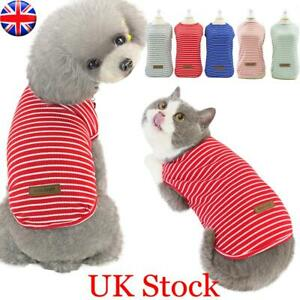 Pets Clothes Cat Puppy T Shirt Vest Tops Costume Puppy Apparel For Small Dog Cat