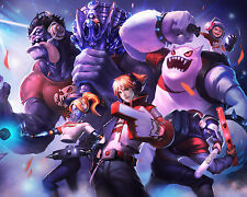 League of Legends LOL 6 Poster Art Print Gamers Wall Decoration 20x16 Inches