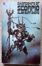 Swordships of Scorpio (Dray Prescot, #4) by Alan Burt Akers PB Orbit (UK)