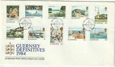1984 Guernsey FDC cover with definitive stamp