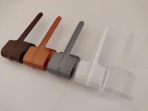 Louvretie,vertical blind blind louver tie back various colours