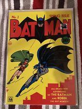 Masterpiece  Re-print? Batman comic#1