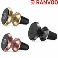 RANVOO Universal Cell Phone GPS Car Mount Air Vent Magnetic Cradle Holder Stand