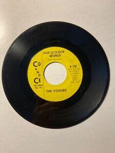 Pop / Rock  45  -   The Vogues  -   Five O'Clock World  -  1965