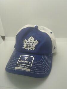 Toronto Maple Leafs - Fanatics Adjustable Blue Hat Cap