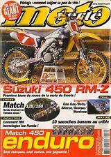 MOTO VERTE 356 YAMAHA 450 WRF KTM EXC CCM HUSABERG FE HONDA HM CR-E HUSQVARNA TE