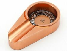 Cohiba Aluminium Alloy Pocket Size Metal Copper Gold Cigar Ashtray Holder