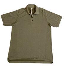 Lululemon polo Shirt Vent Tech Mens Size Large Amazing Condition