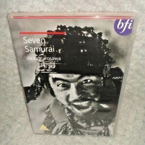 Seven Samurai (DVD, 1954, 1999)