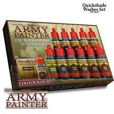Warpaints Quickshade Washes Set Army Painter Water Based Acrylic New AP-WP8023