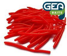25 Pcs Worm Earthworm Sea Fishing Soft Lures Jelly Baits 8cm