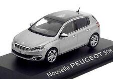Nouvelle PEUGEOT 308 color gris 1:43 Norev Diecast modelcar